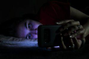 vaken på natten